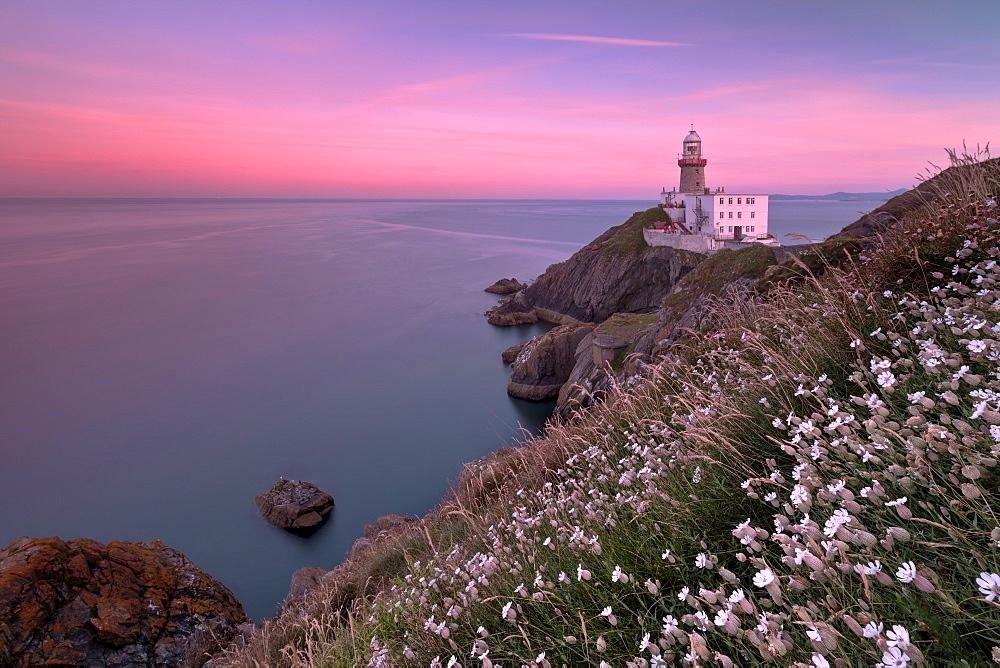 Sunset on Baily Lighthouse, Howth, County Dublin, Ireland - 1179-3028
