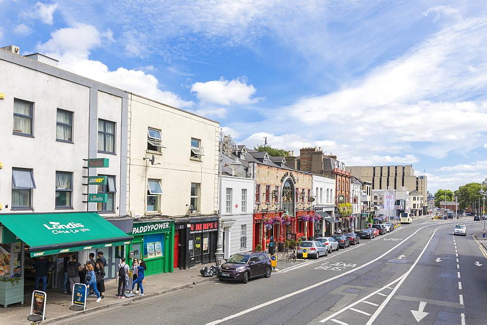 People on the street, Dublin, Ireland - 1179-3053