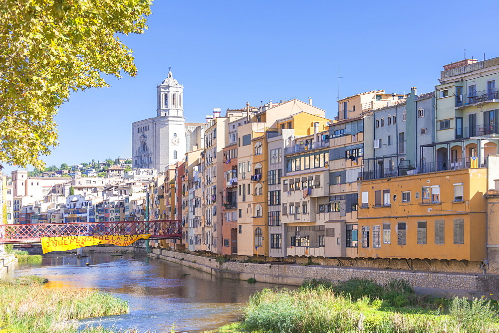 Eiffel Bridge, Girona, Catalonia, Spain, Europe