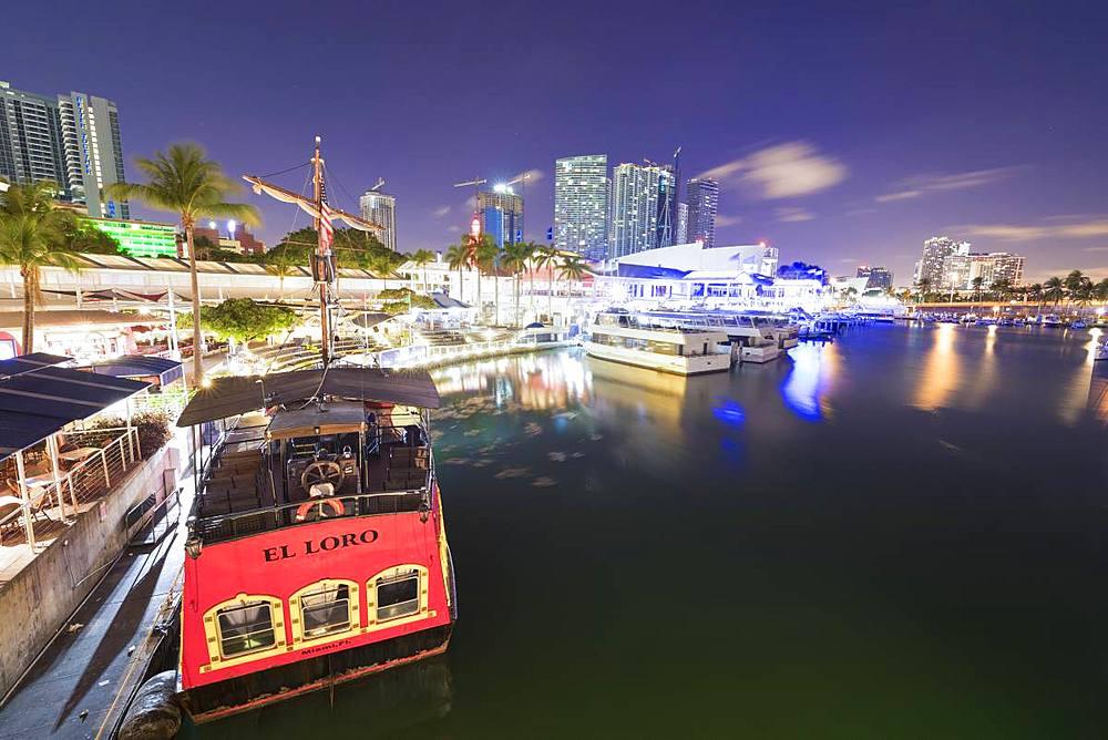 Miamarina, Bayside Marketplace, Miami, Florida, United States of America, North America