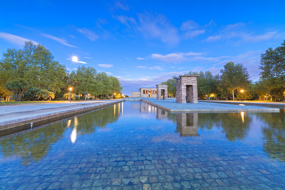 Egyptian Temple of Debod, (Templo de Debod), Parque del Oeste, Madrid, Spain
