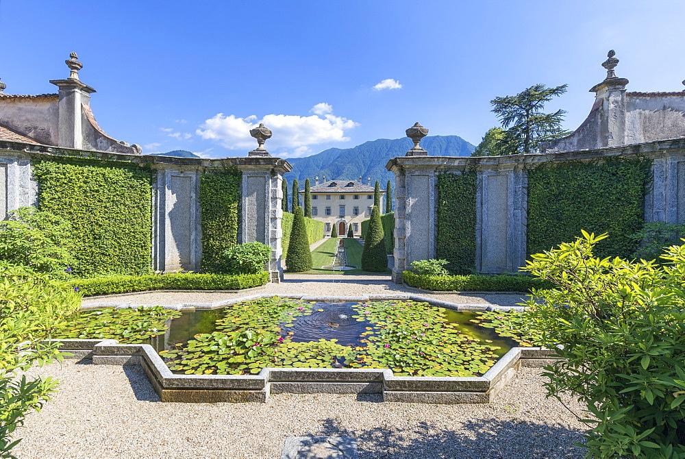 Villa Balbiano, Ossuccio, Lake Como, Lombardy, Italian Lakes, Italy, Europe