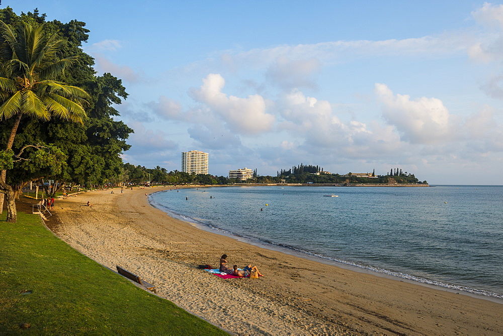 Baie des Citrons beach, Noumea, New Caledonia, Pacific