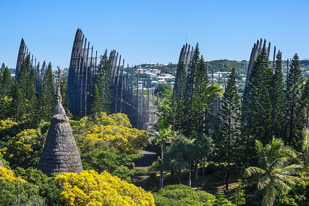 Jean-Marie Tjibaou Cultural Centre, Noumea, New Caledonia, Pacific