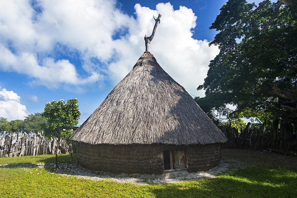 Karnak tribal compund, Saint Joseph, Ouvea, Loyalty Islands, New Caledonia