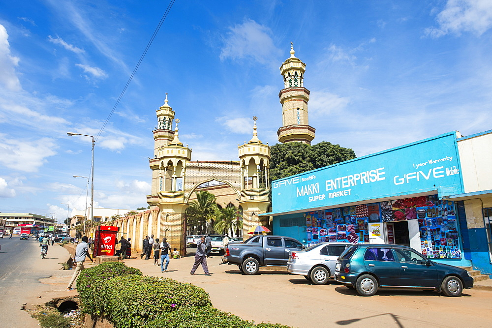 Mosque in the center of Lilongwe, Malawi, Africa