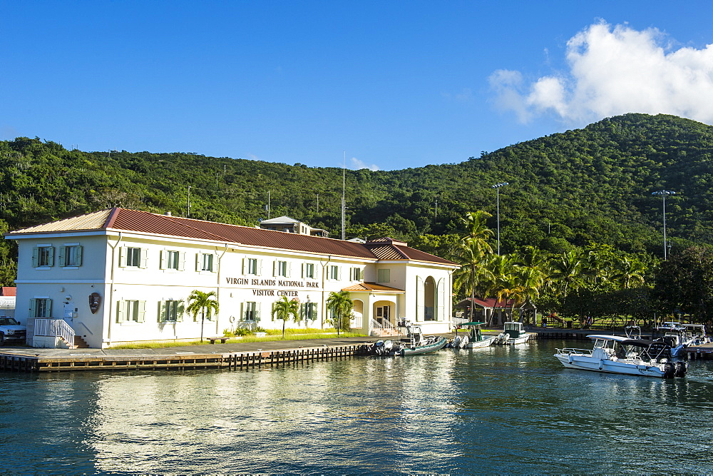 National Park office in Cruz Bay, St. John, Virgin Islands National Park, US Virgin Islands, West Indies, Caribbean, Central America