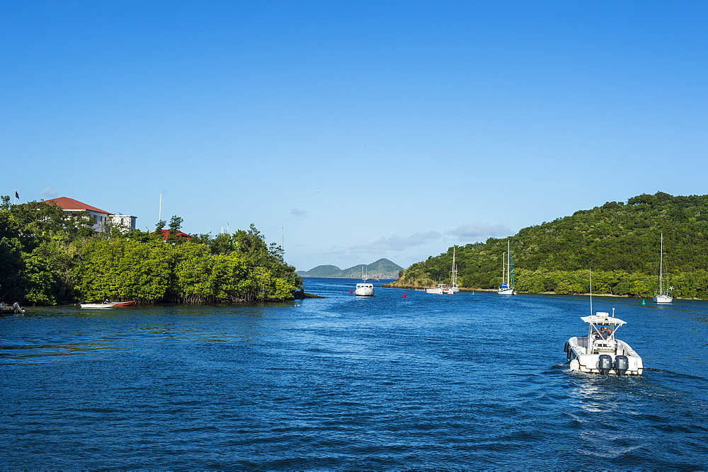 Cruz Bay, capital of St. John, Virgin Islands national park, US Virgin Islands, West Indies, Caribbean, Central America