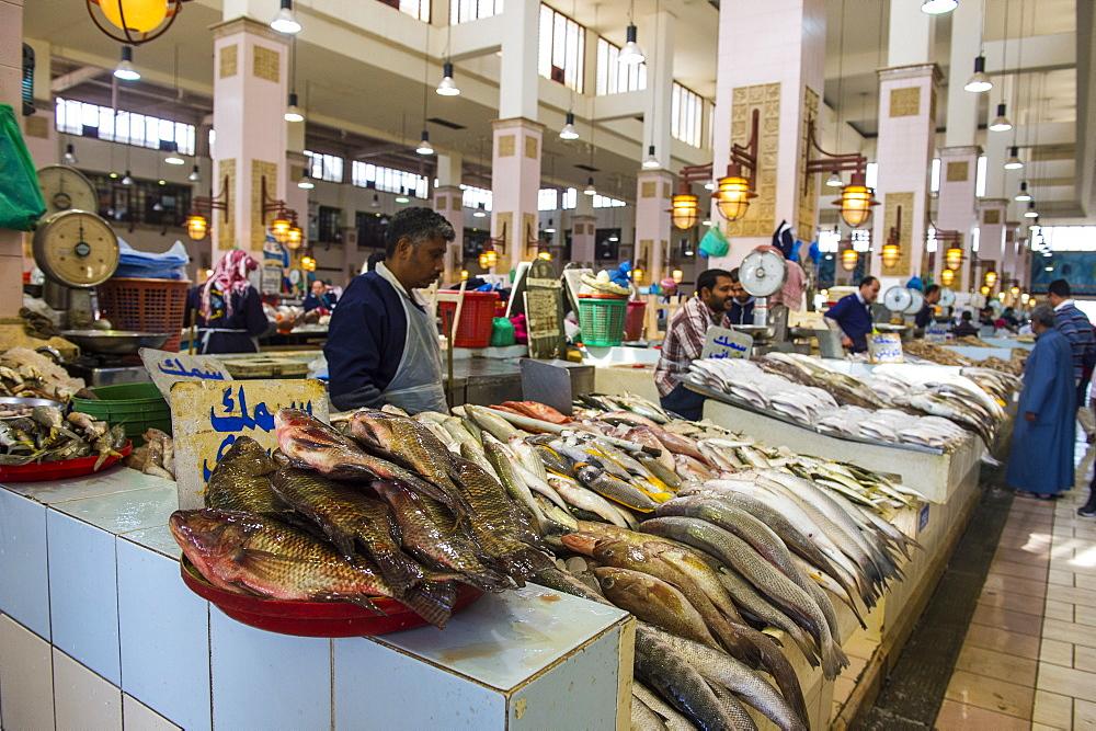 Fish for sale, Fish Market, Kuwait City, Kuwait, Middle East