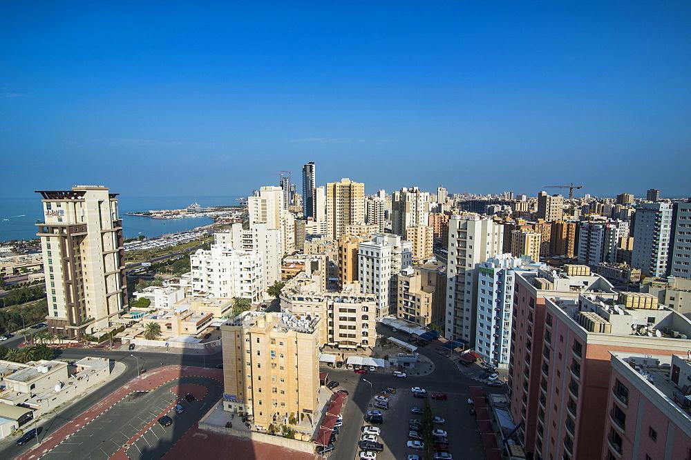 Overlook over Kuwait City, Kuwait - 1184-1381
