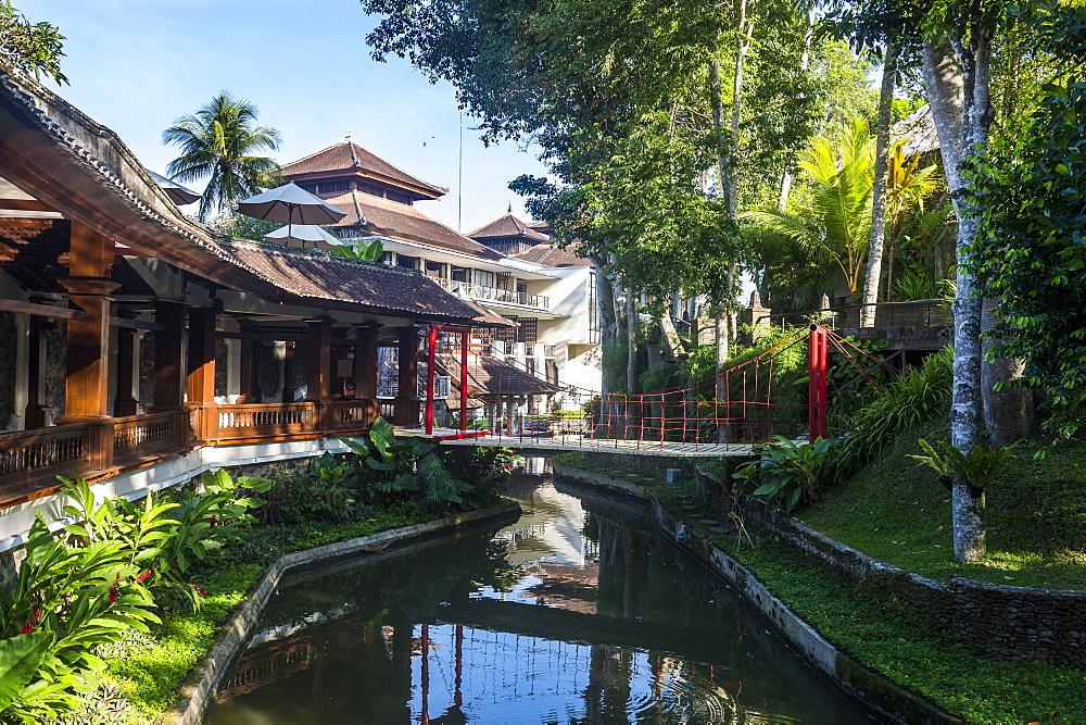 Little briudge in the Kamandalu Ubud resort, Ubud, Bali, Indonesia
