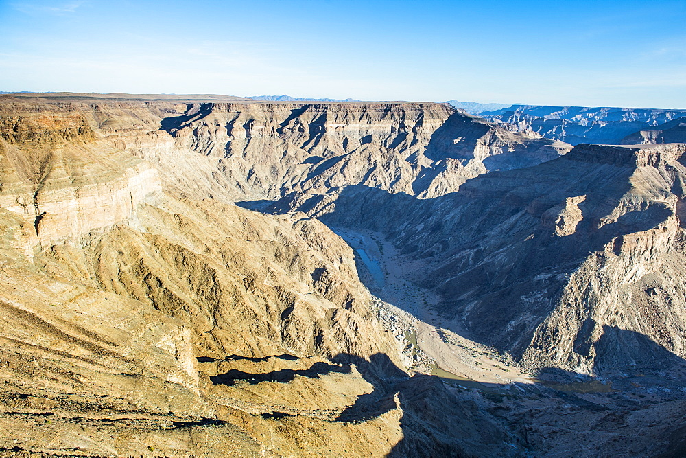 View over the Fish River Canyon, Namibia, Africa