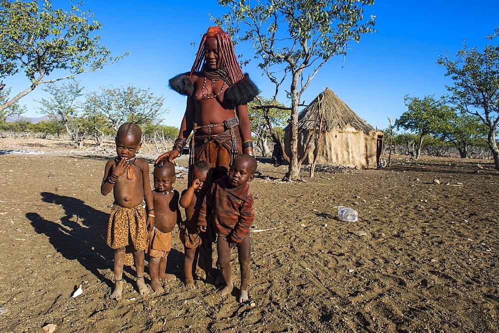 Himba woman, Sesriem, Kaokoveld, Namibia, Africa