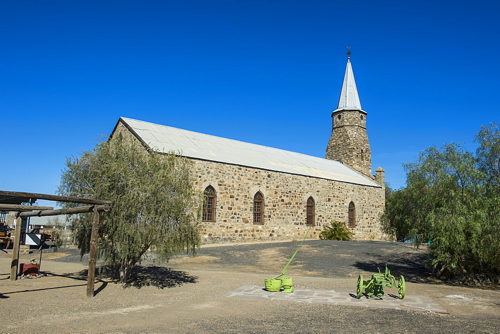 Old German church in Ketmanshoop, Namibia, Africa