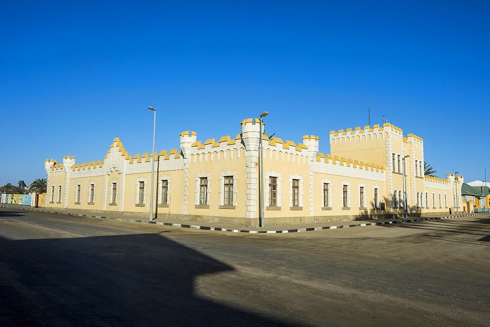 Old German fort, Swakopmund, Namibia, Africa