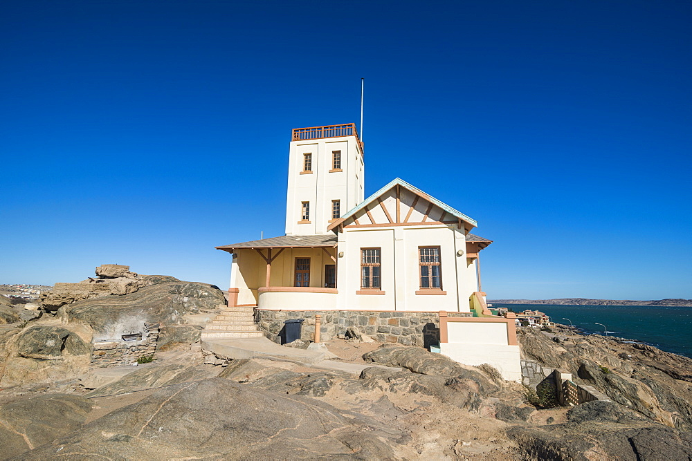 Old Lighthouse in Luderitz, Namibia, Africa