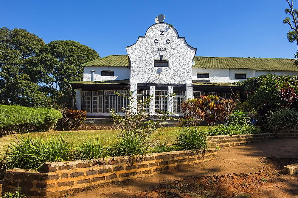 Colonial house, Zomba Plateau, Malawi, Africa