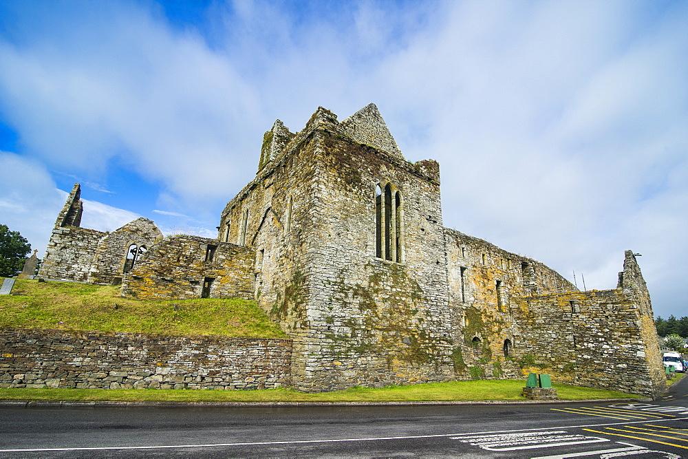 Timoleague Abbey, Timoleague, County Cork, Munster, Republic of Ireland, Europe