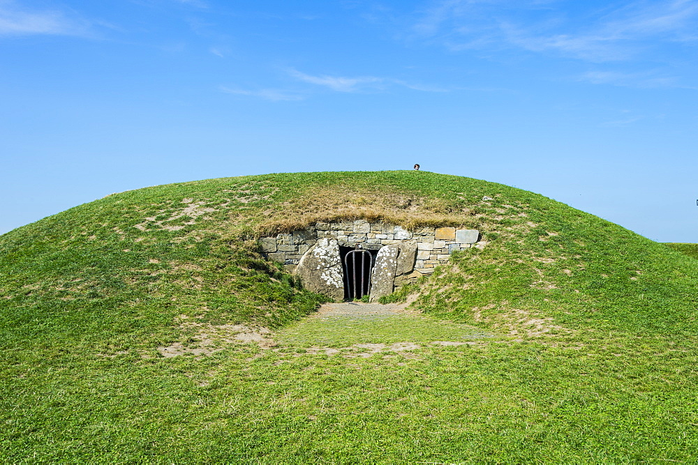 Mount of the Hostages, former high seat of the High King of Tara, Hill of Tara, County Meath, Leinster, Republic of Ireland, Europe