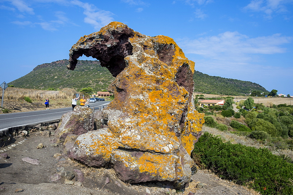 Elephant Rock, near Casstelsardo, Sardinia, Italy, Europe
