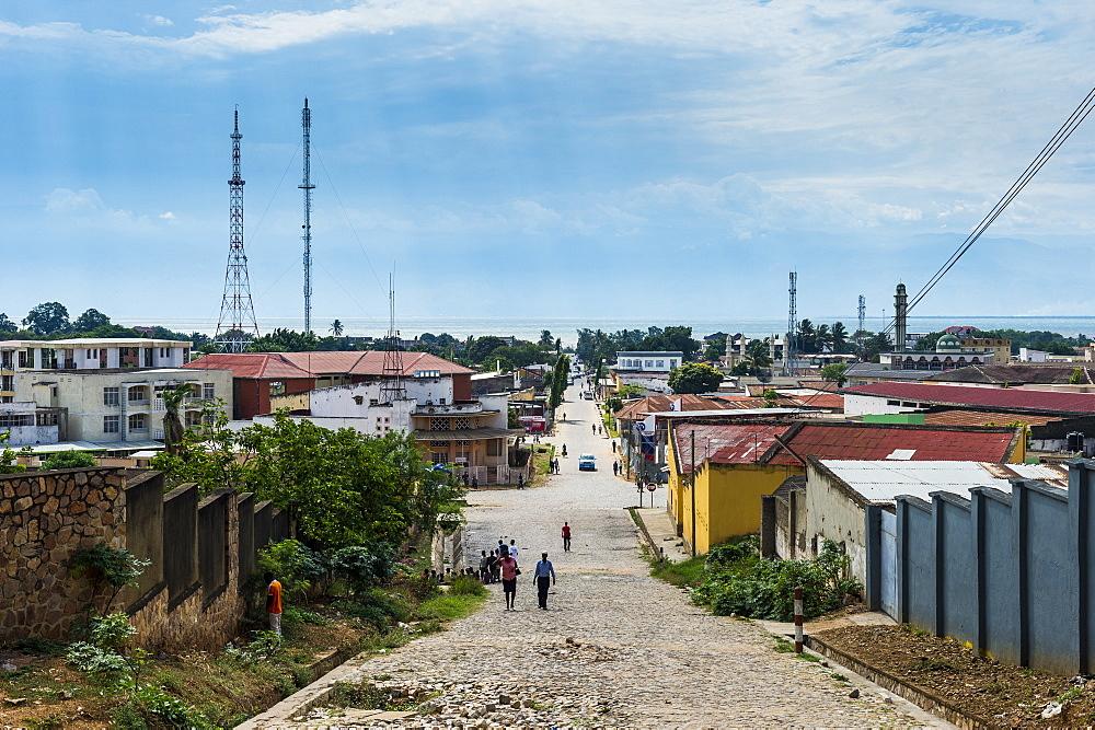 View over Bujumbura, Burundi, Africa