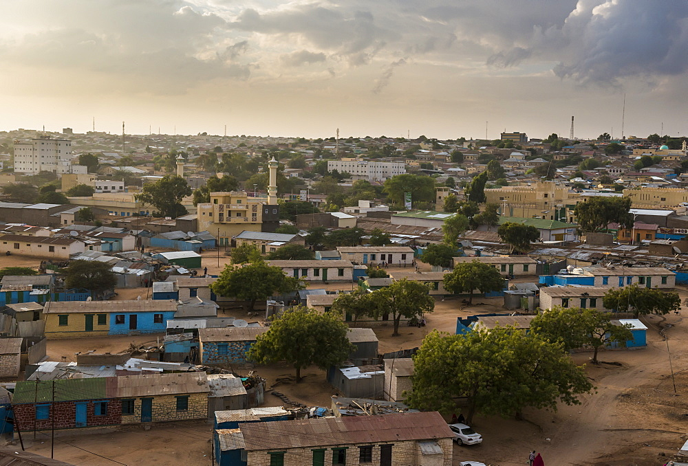 View over Hargeisa, Somaliland, Somalia, Africa