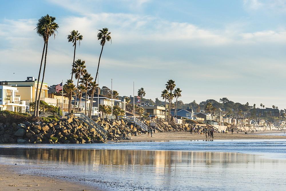 The beach of Del Mar, California, United States of America, North America