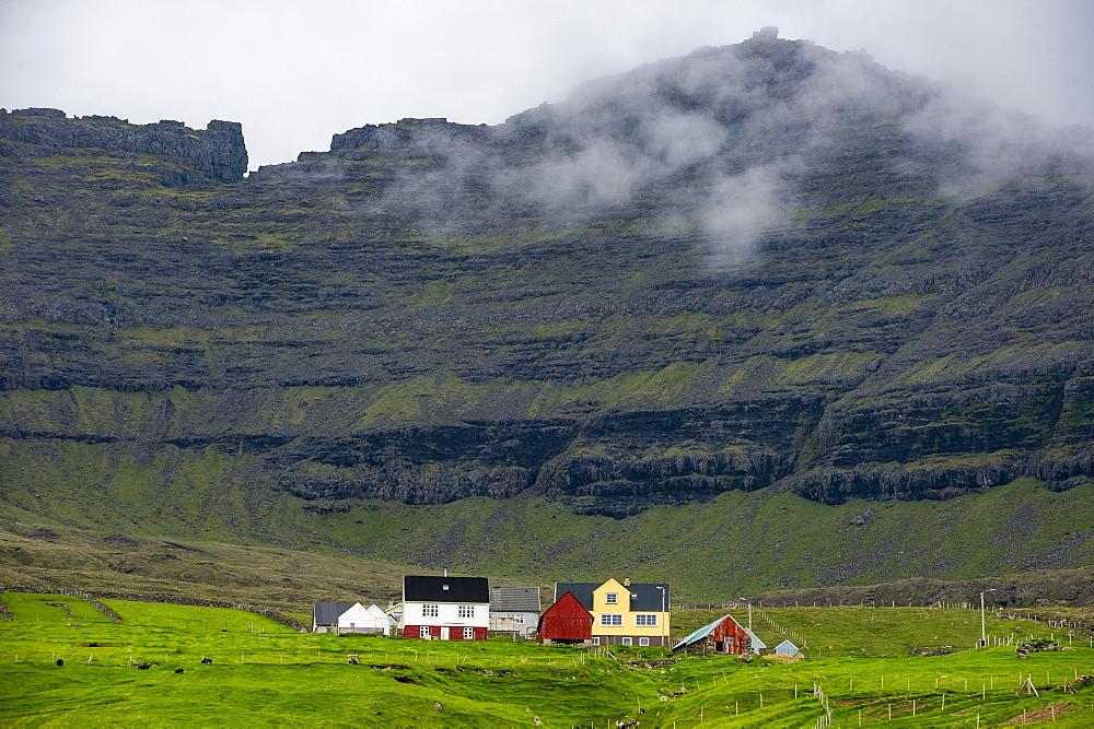 Vidoy, Faroe Islands, Denmark, Europe - 1184-1933
