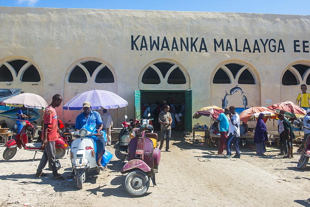 The Fishmarket in Mogadishu, Somalia
