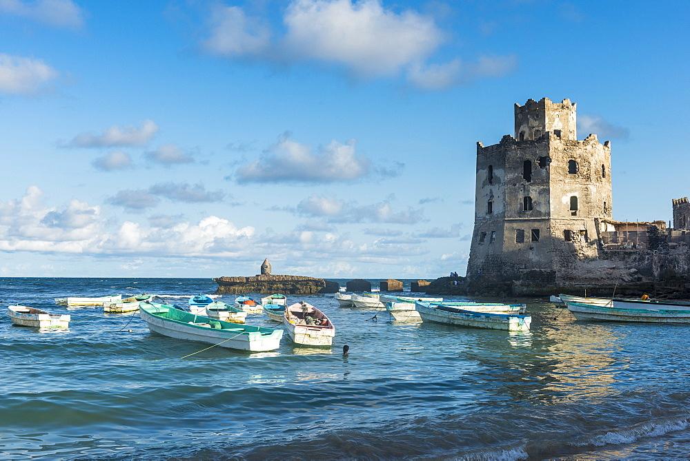 The Italian lighthouse in Mogadishu, Somalia, Africa