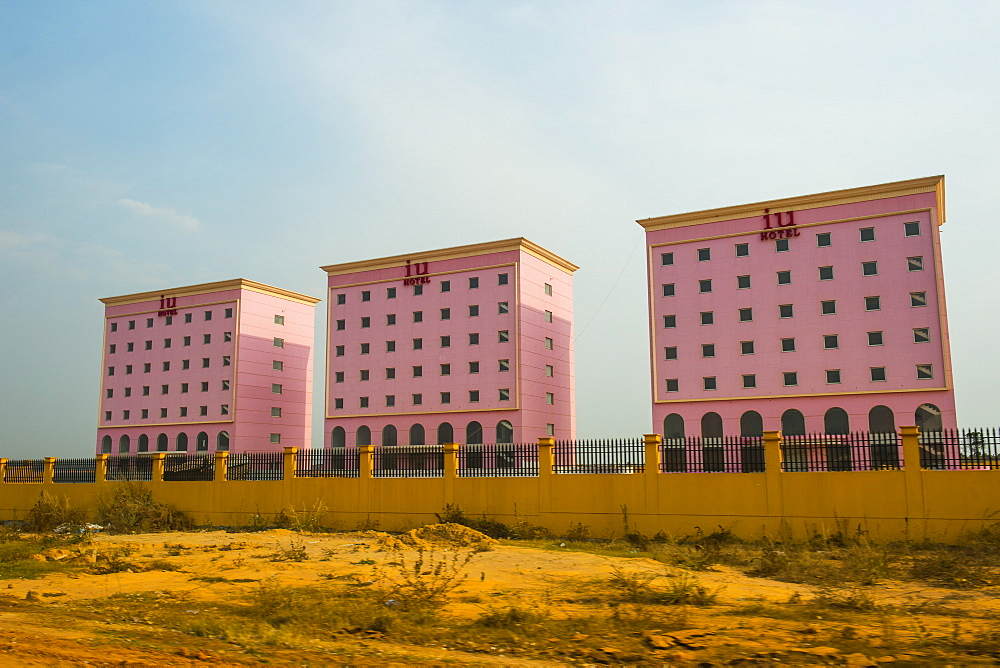 New chinese buildings, Malanje, Malanje province, Angola