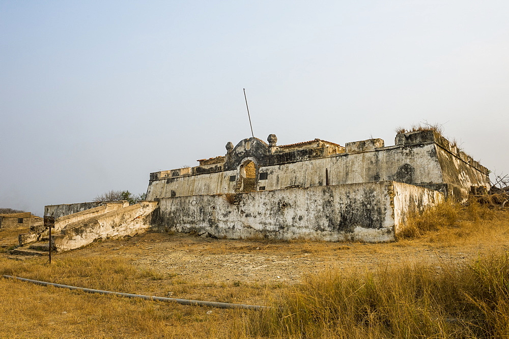 Tentative UNESCO world heritage sight the fortress of Massangano, Cuanza Norte, Angola - 1184-1998