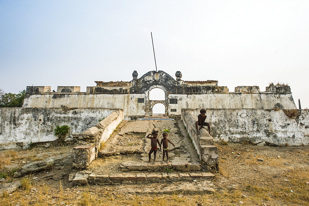 Tentative UNESCO world heritage sight the fortress of Massangano, Cuanza Norte, Angola - 1184-1999