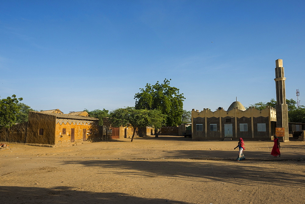 Traditional mosque, Gaoui, near N´Djamena, Chad - 1184-2022
