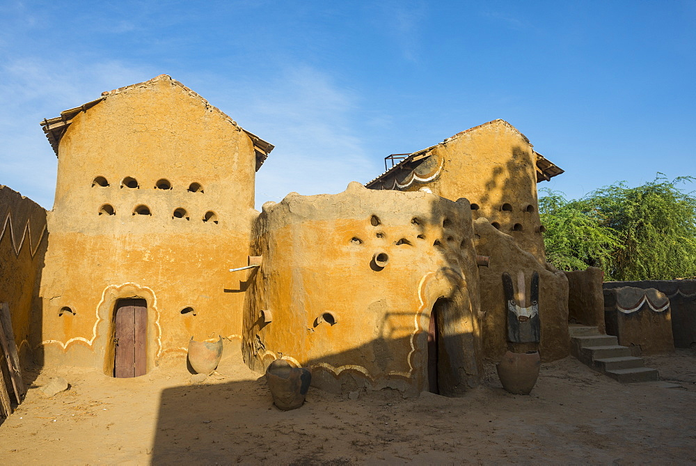 Old sultan palace, Gaoui, near N´Djamena, Chad - 1184-2023