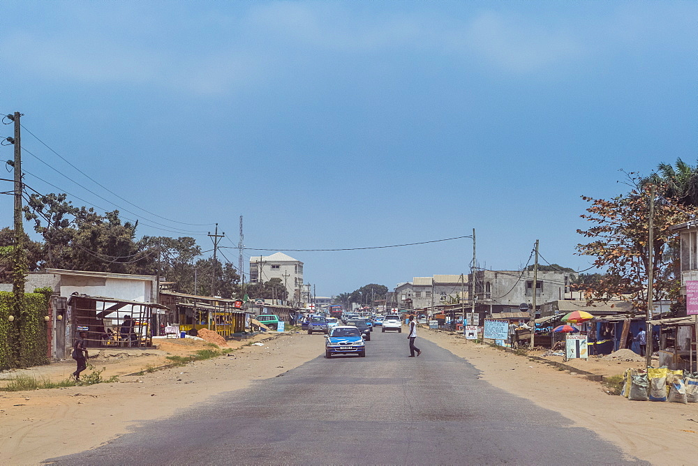 Downtown Pointe-Noire, Republic of the Congo - 1184-2033