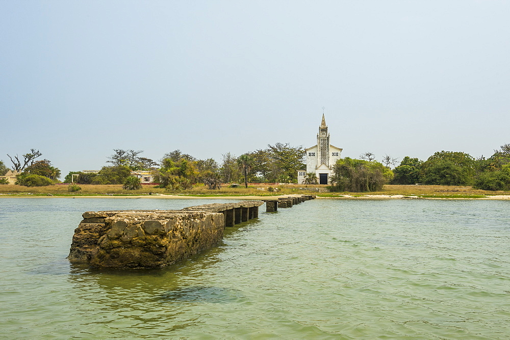Church on Mussulo island, Luanda, Angola - 1184-2038