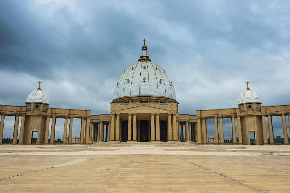 Basilica of Our Lady of Peace, Yamassoukrou, Ivory coast - 1184-2062