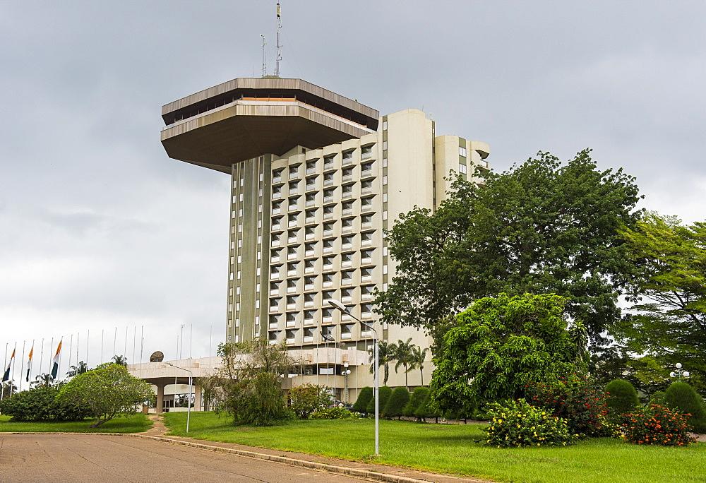 Hotel President in Yamassoukrou, Ivory Coast, West Africa, Africa