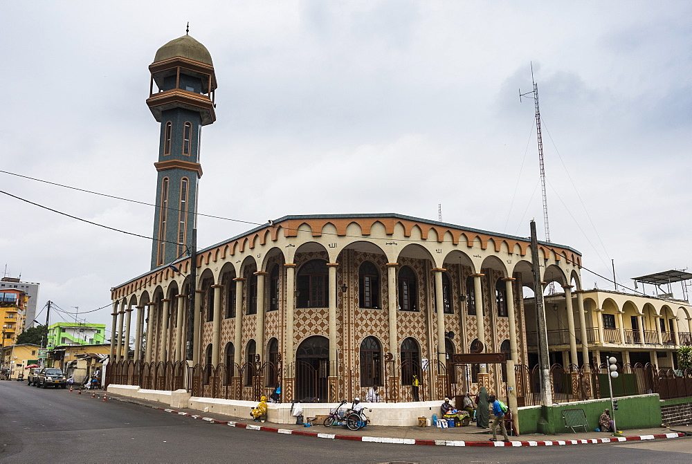 Central mosque, Libreville, Gabon