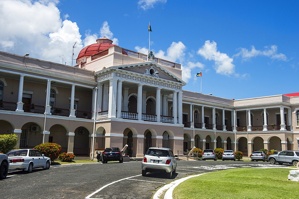 The Parliament of Guyana, Georgetown, Guyana, South America