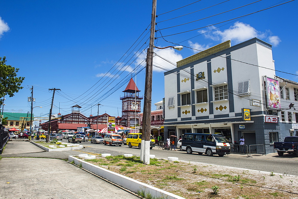 Downtown, Georgetown, Guyana, South America