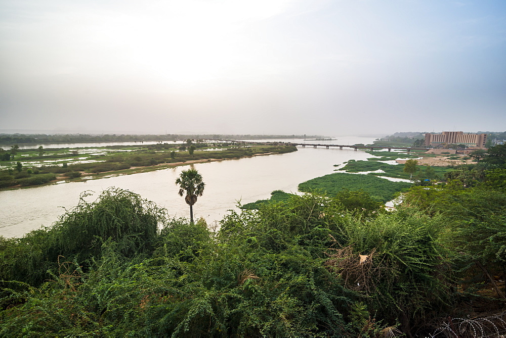 View over the River Niger, Niamey, Niger, Africa