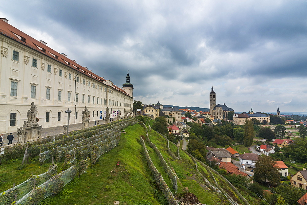 Jesuit College in the UNESCO World Heritage Site, Kutna Hora, Bohemia, Czech Republic, Europe