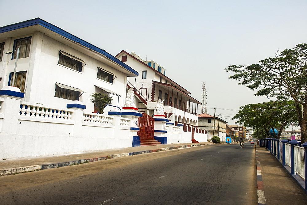 Kumba´s place colonial building, Monrovia, Liberia - 1184-2256
