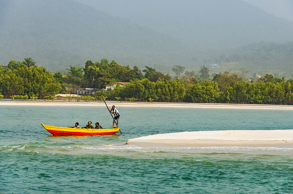 Two Mile Beach, Sierra Leone, West Africa, Africa