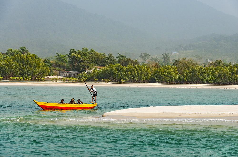 Two mile beach, Sierra Leone - 1184-2286