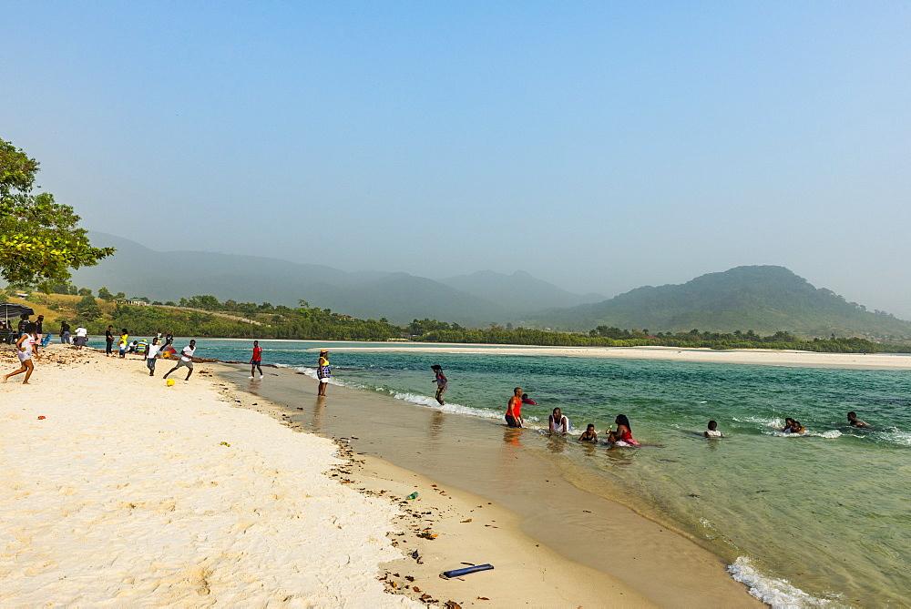 Two mile beach, Sierra Leone