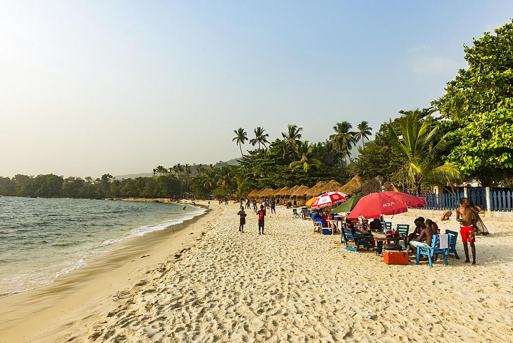 Two mile beach, Sierra Leone - 1184-2288