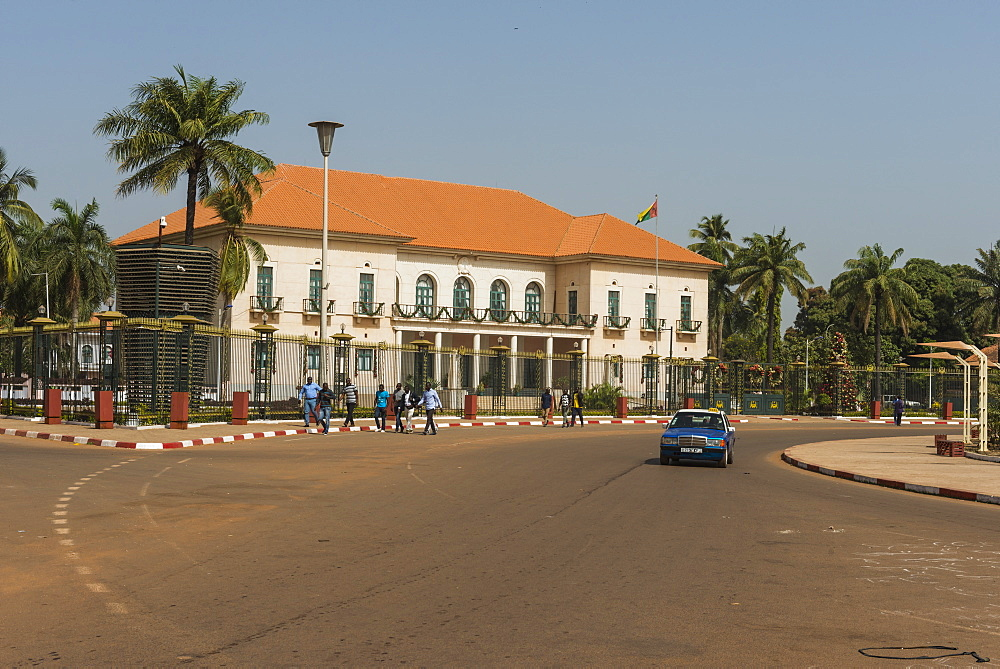 Republican palace, Bissau, Guinea Bissau - 1184-2293